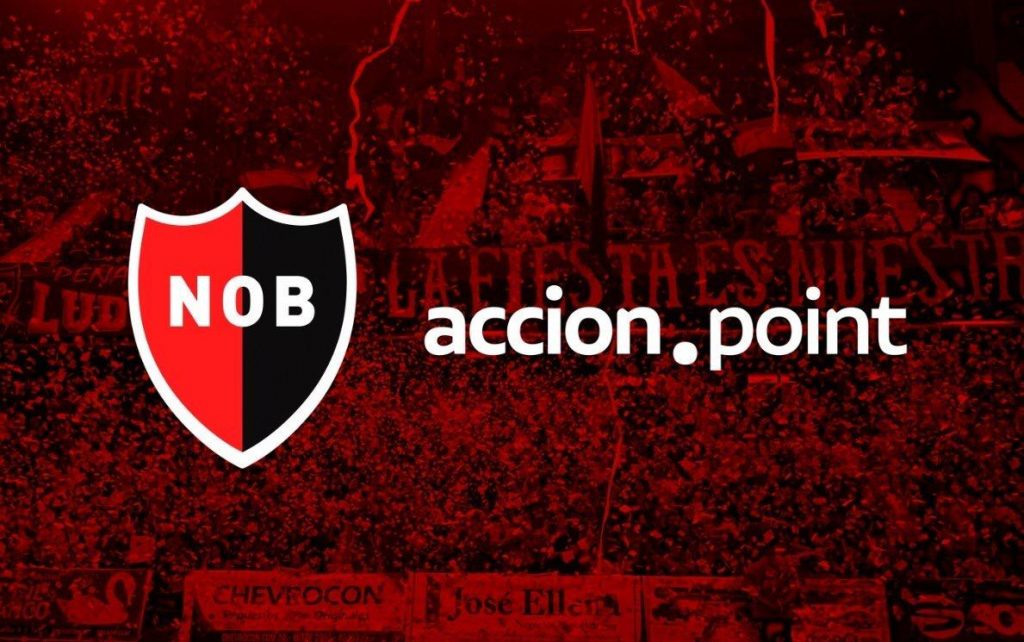 Newell's Old Boys introduced Accion Point as a technology sponsor