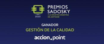 Accion Point, ganador de los Premios Sadosky 2020 en la categoría Gestión de la Calidad